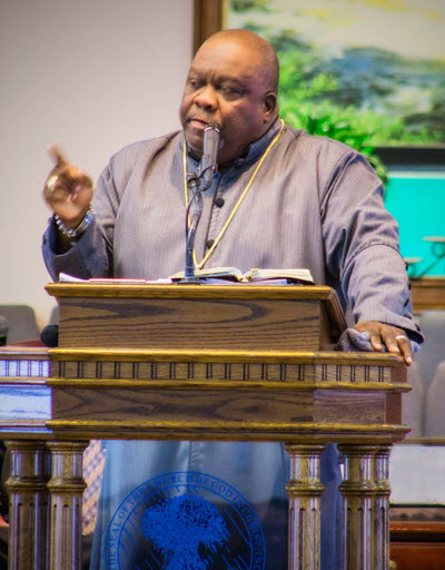 Bishop Michael Paden Preaching