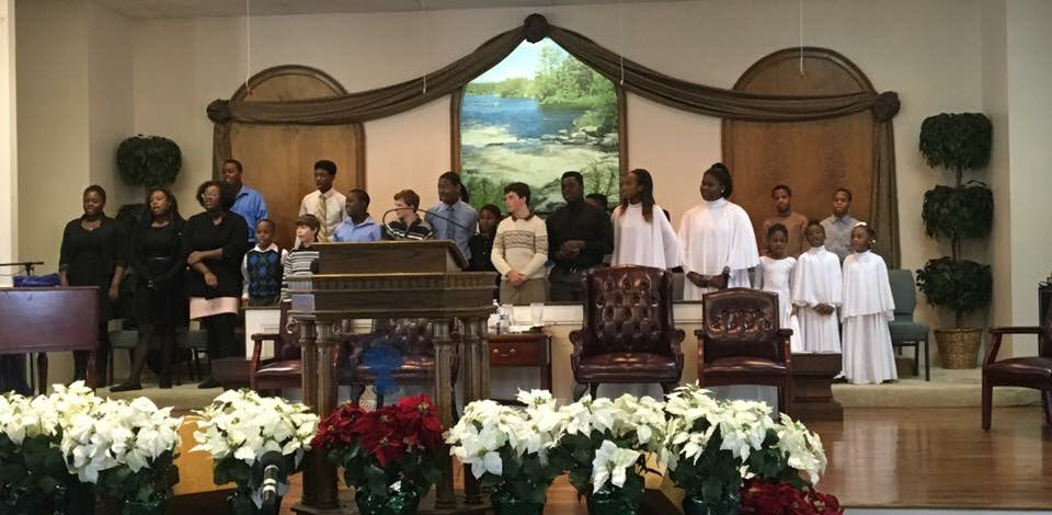 Holy Fellowship youth choir