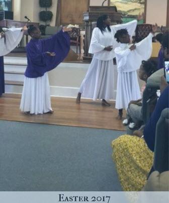Easter Praise Dancers
